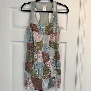 LaRok Sequin Mini Dress